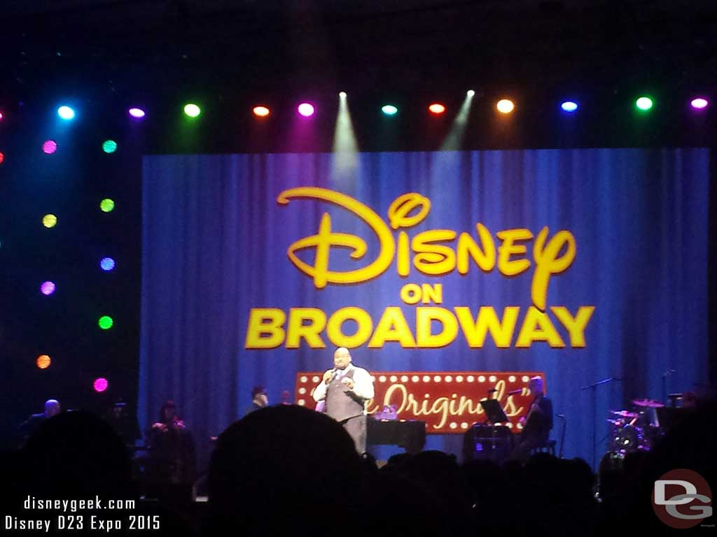 Showtime Disney on Broadway #D23Expo