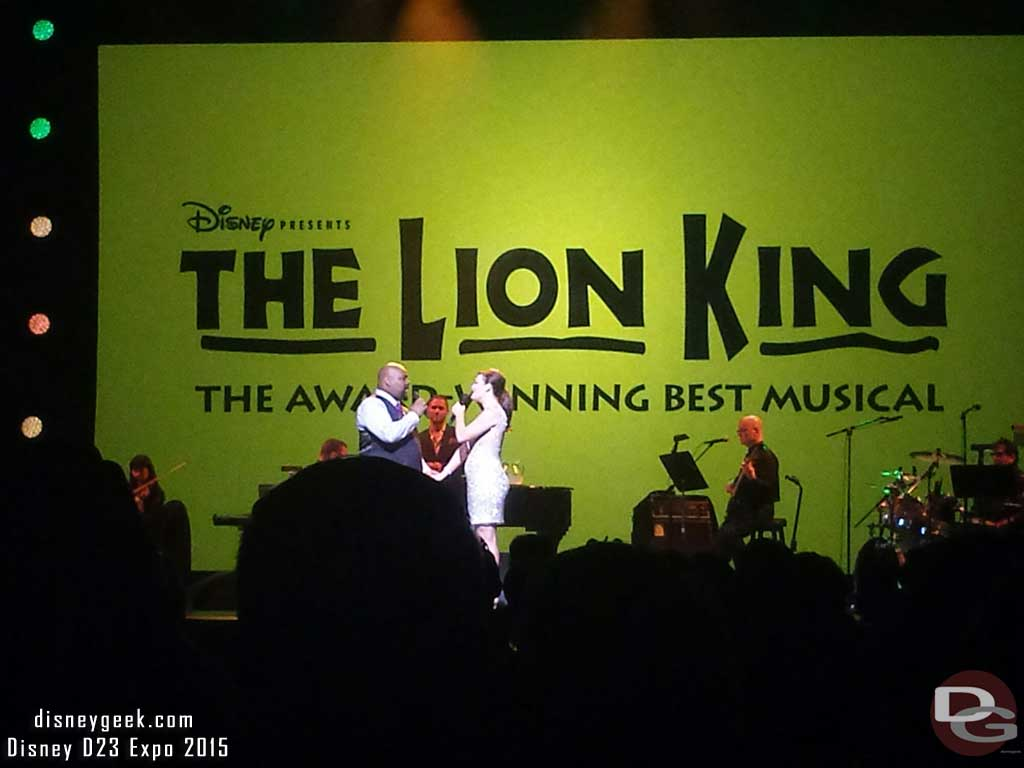 The Lion King – Disney on Broadway #D23Expo