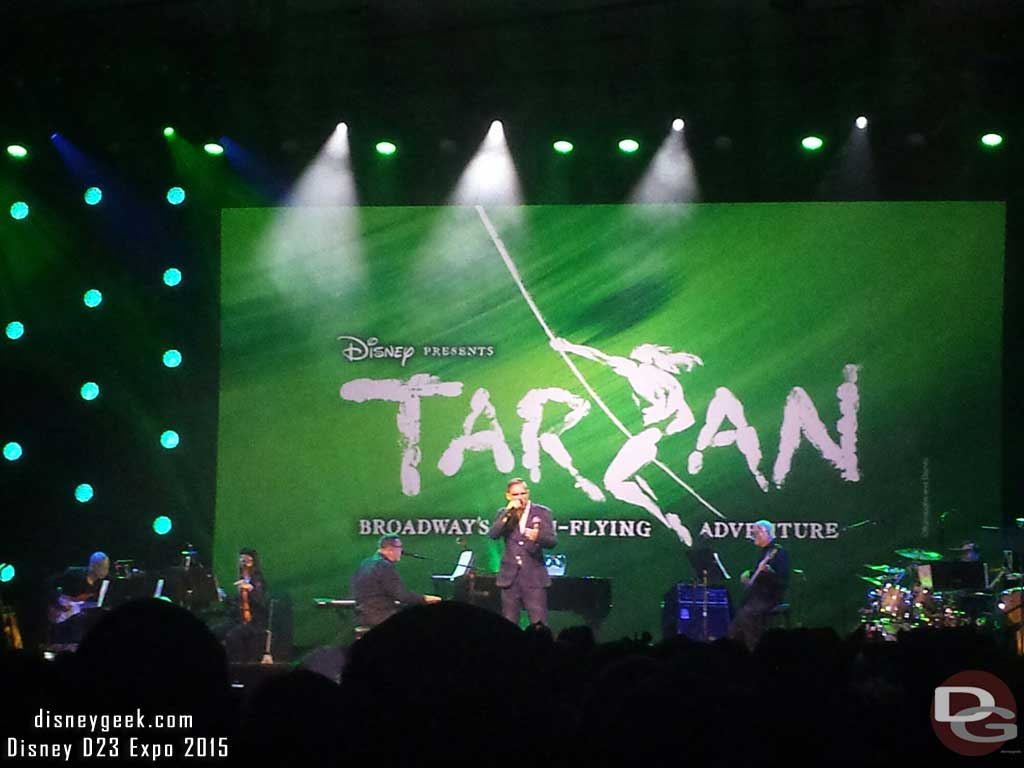 The music of Tarzan #D23Expo