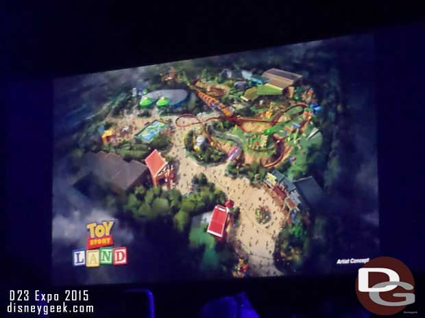 Toy Story Land coming to Disney's Hollywood Studios - No timeframe given