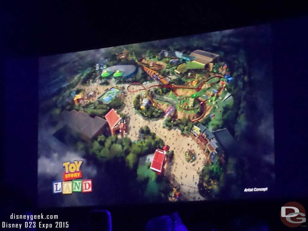 Toy Story Land at Disney Hollywood Studios #D23Expo