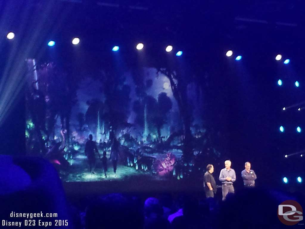 Joe Rohde, James Cameron & Jon Landau talking about Pandora the world of Avatar #WDW #D23Expo