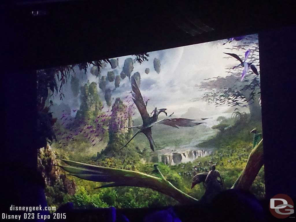 Flight of Passage at Disney Animal Kingdom #WDW #D23Expo