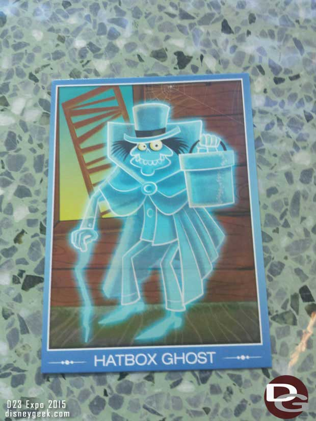 It turned out to be a Hatbox Ghost Card