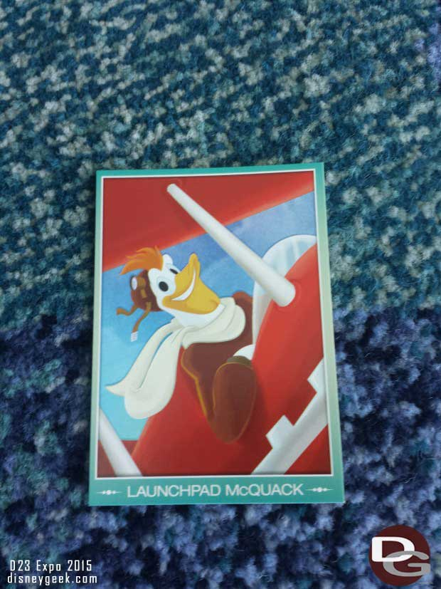 A trading card alert went out.  This time for Launchpad