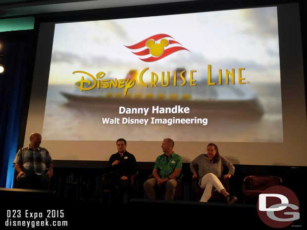 Then Disney Cruise Line talked about the upcoming changes to the Dream and the new show on the Magic