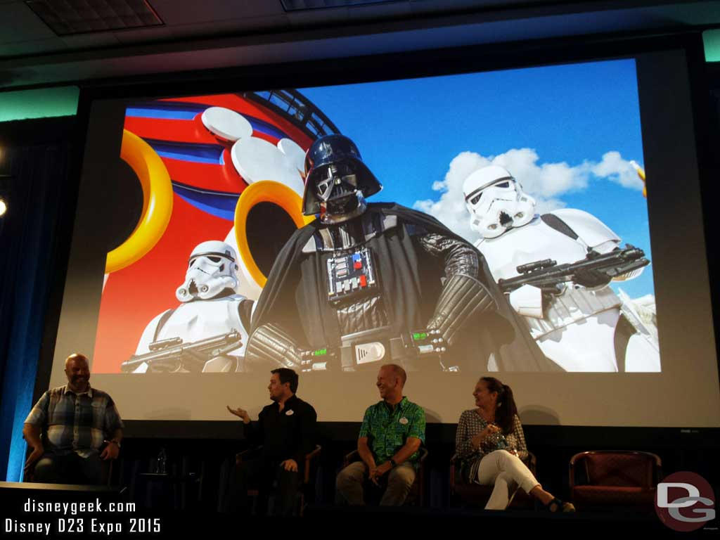 #StarWars Day at sea on 8 sailings of Disney Dream in 2016 to feature trivia, movies Jedi training & more #D23Expo