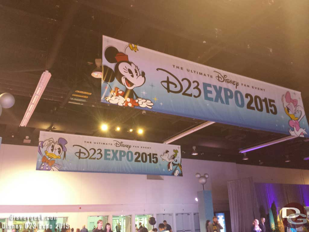 Wrapping up my #D23Expo & heading for home