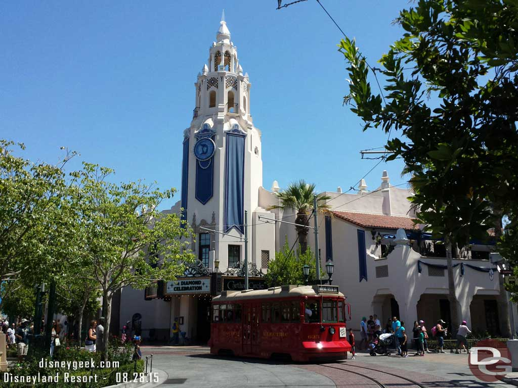 Carthay Circle #BuenaVistaStreet this afternoon