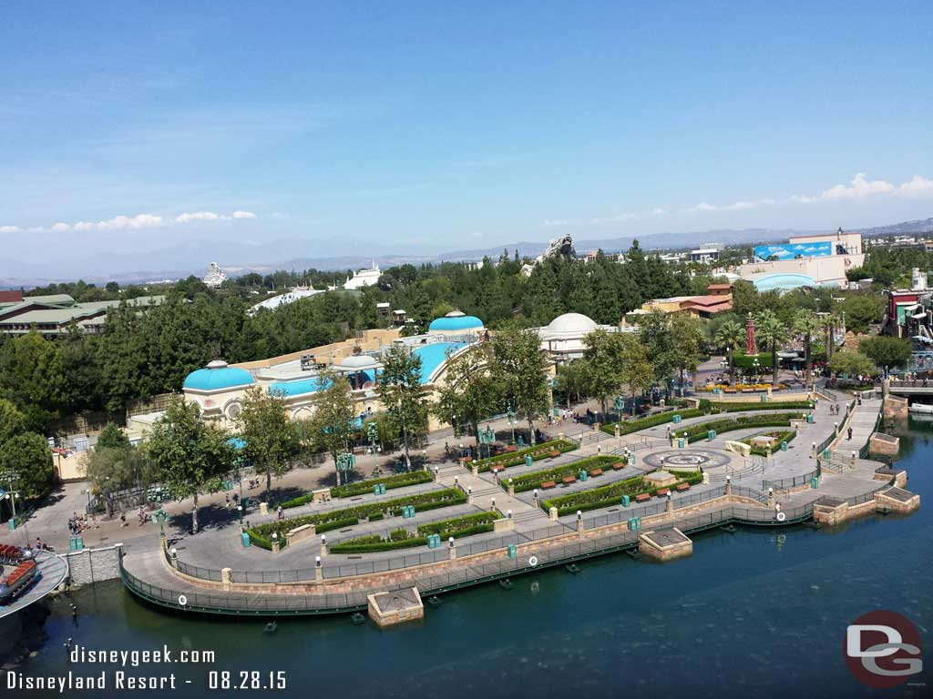 Paradise Park from Mickey's Fun Wheel – Disney California Adventure