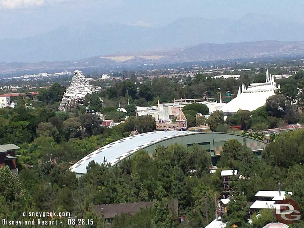 Looking toward #Disneyland from Mickey's Fun Wheel – Disney California Adventure