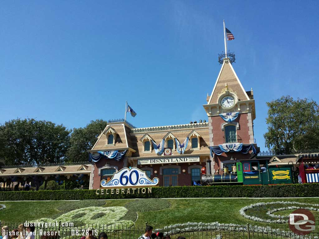 Next stop #Disneyland