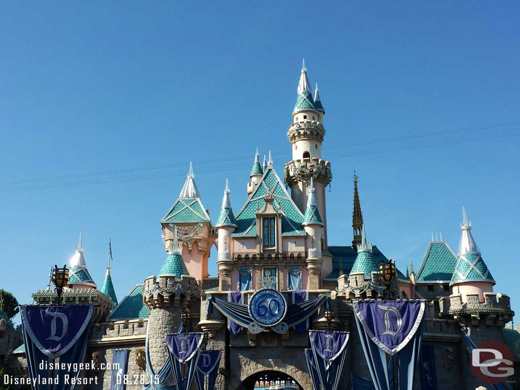 Sleeping Beauty Castle #Disneyland60