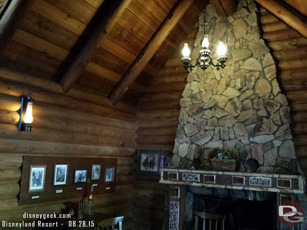 A look inside the cabin in the Big Thunder Ranch #Disneyland