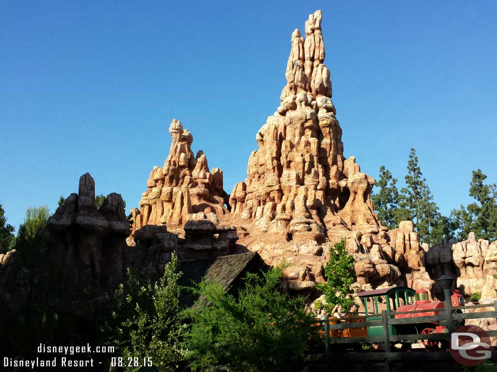 Passing by Big Thunder #Frontierland #Disneyland