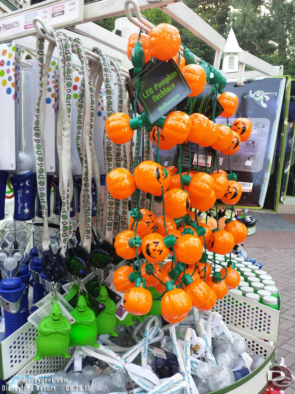 Light up Halloween merchandise #Disneyland
