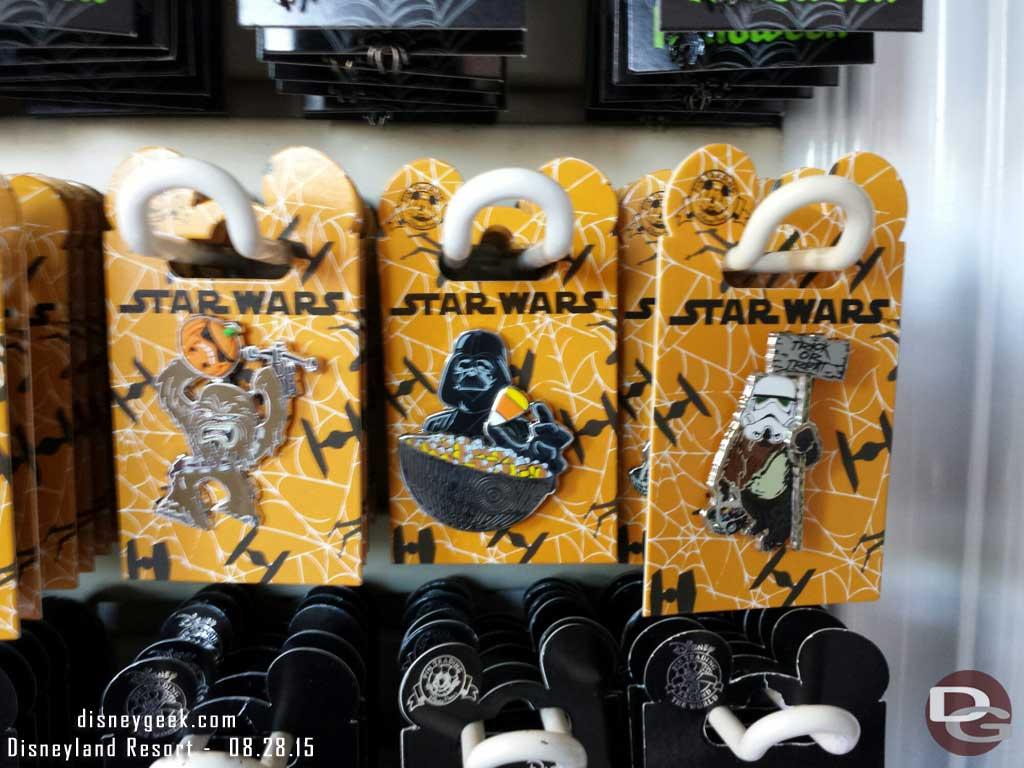 #StarWars #Halloween pins at #Disneyland