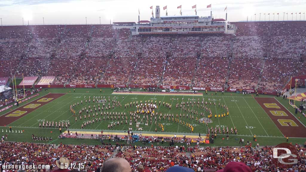USC Trojan Marching Band – Disneyland 60th Anniversary Half Time Show