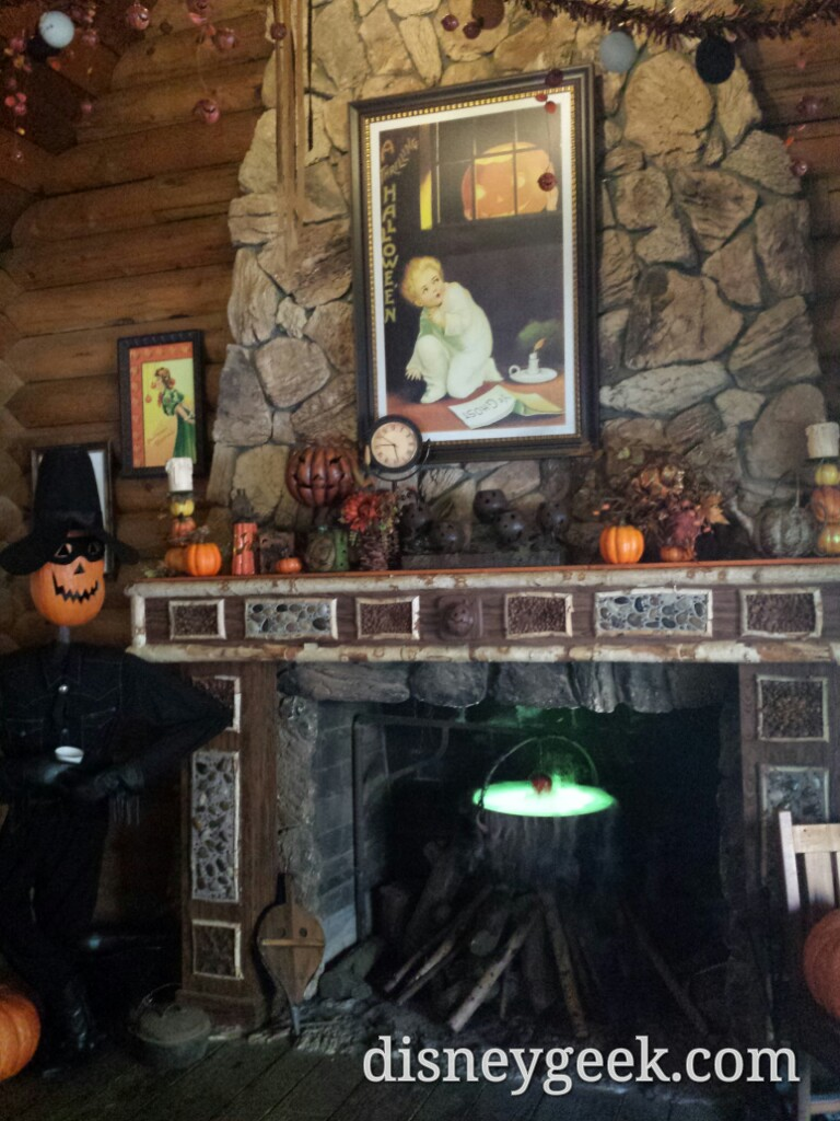 Inside the scare-dy-crow shack in the Big Thunder Ranch #Disneyland #Halloween