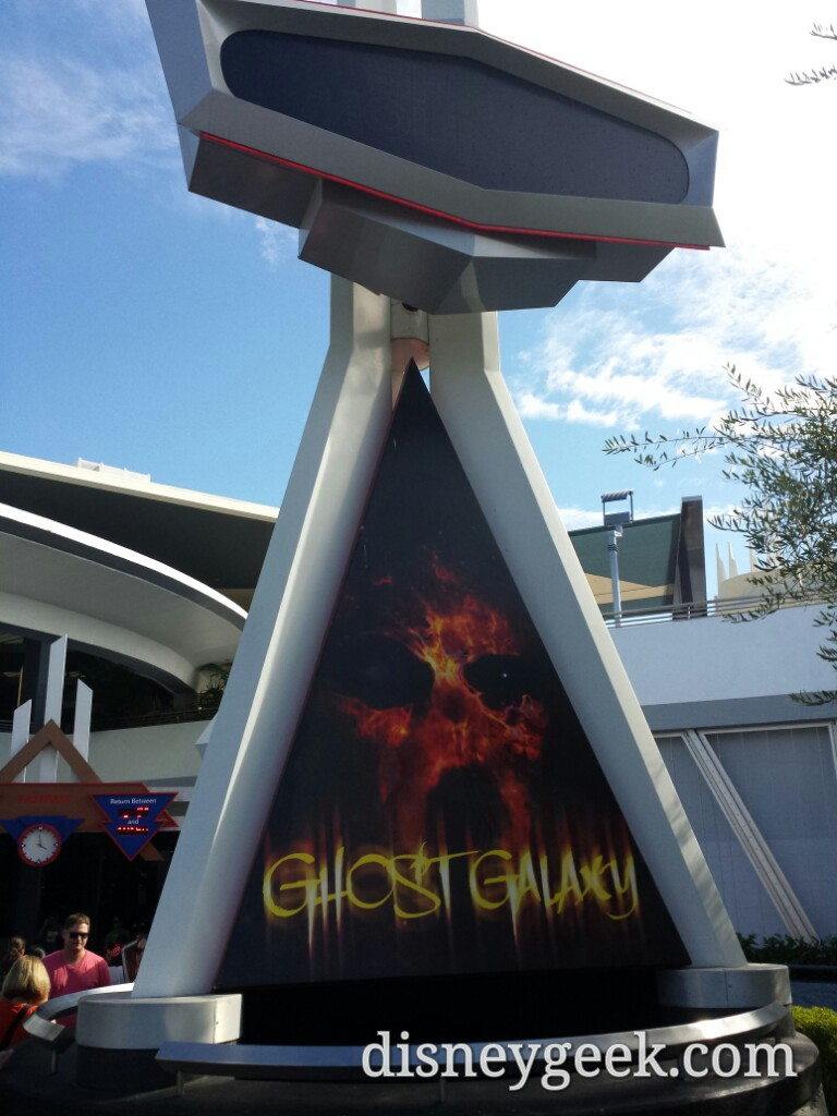 Ghost Galaxy has returned too #Halloween #Disneyland