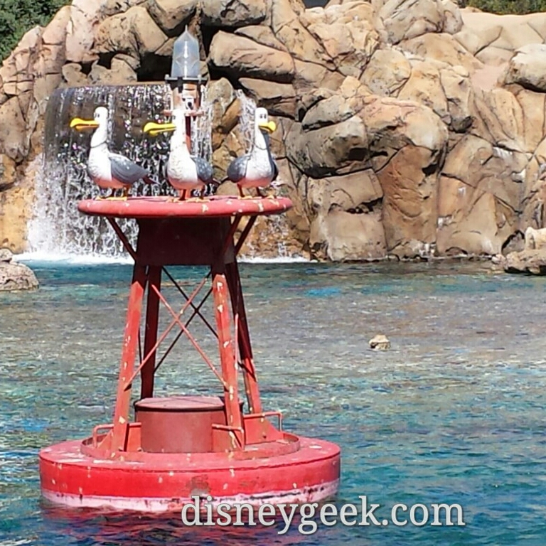 Mine! Mine!  Passing by the sub lagoon #Disneyland