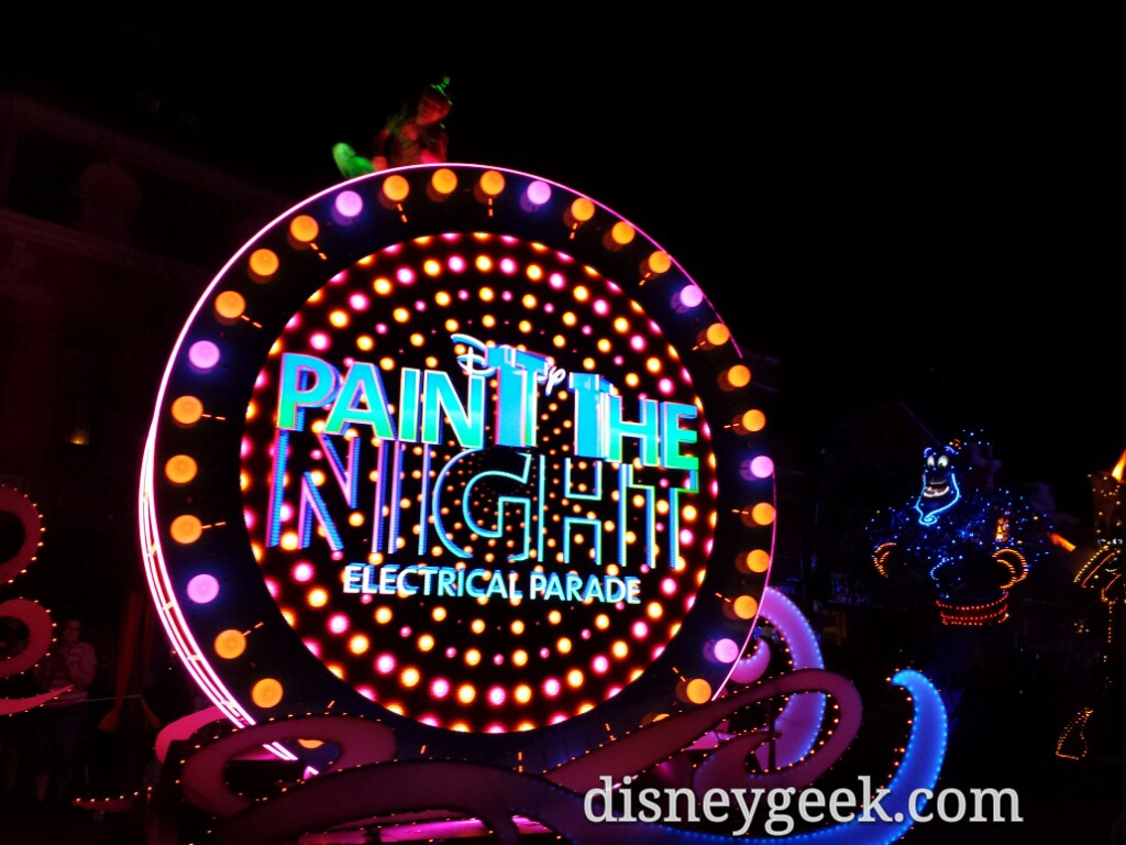 Paint the Night reaching Town Square #Disneyland60