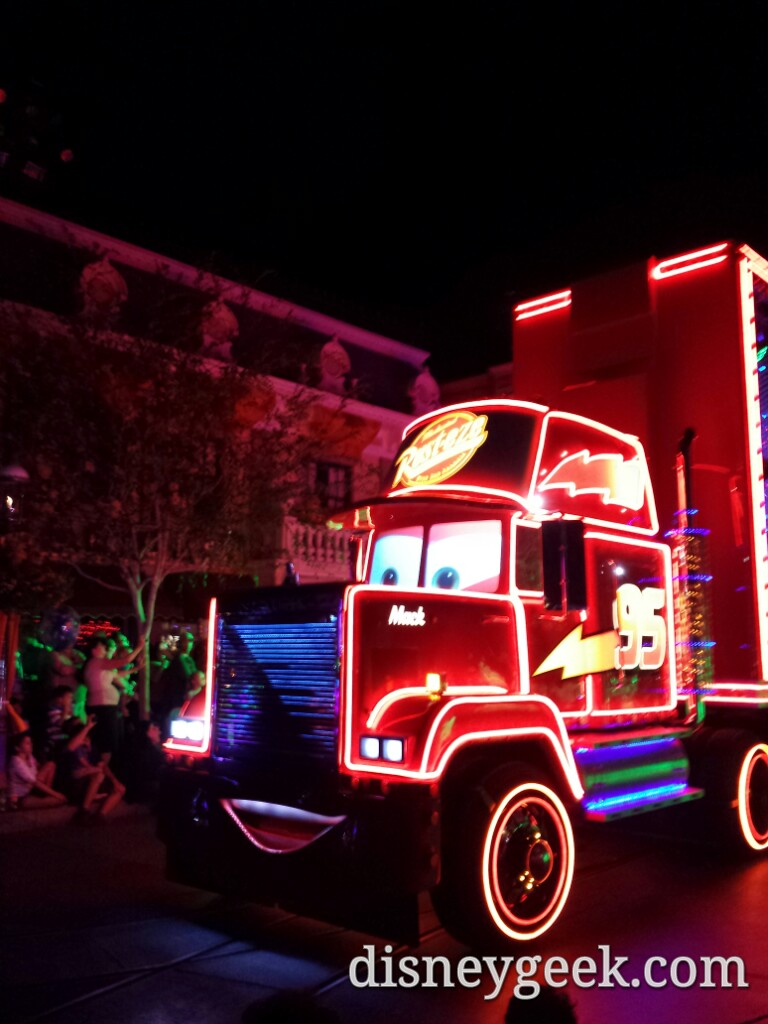 Mack in Paint the Night #Disneyland60