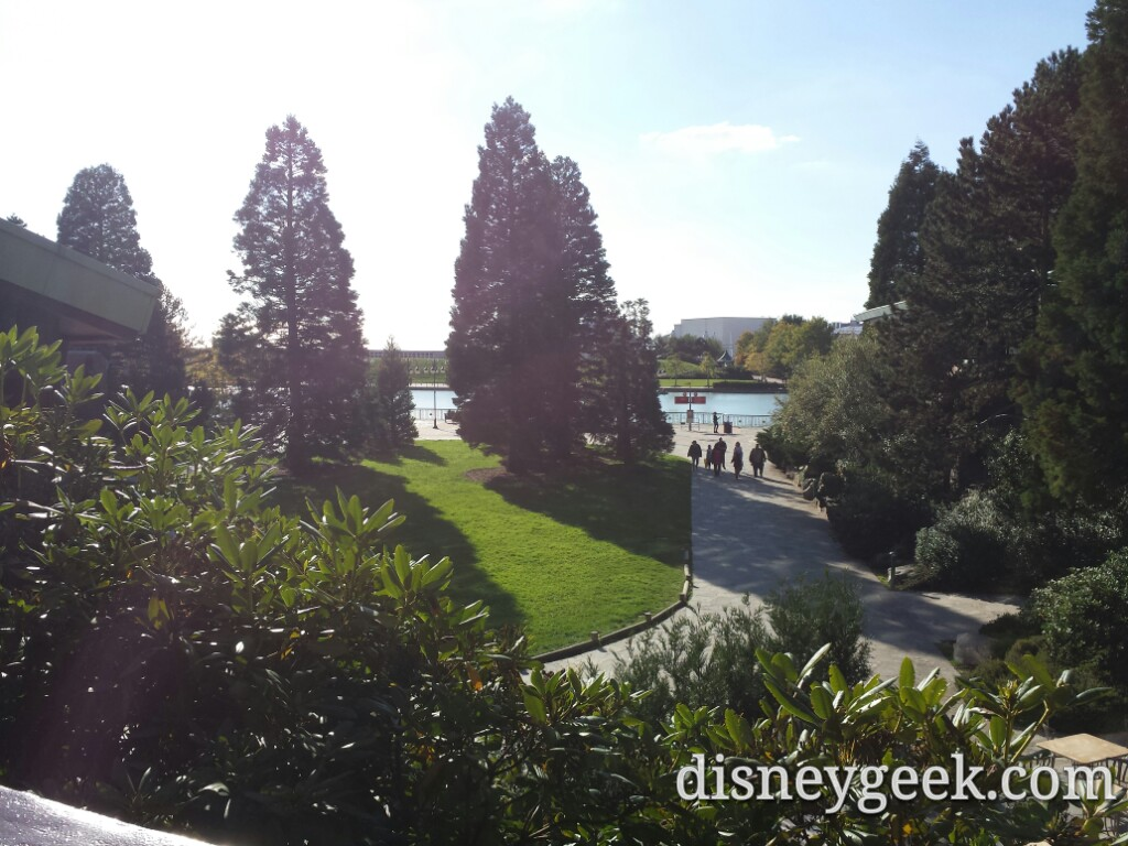 The walkway from the lodge to the lake and parks #DLP