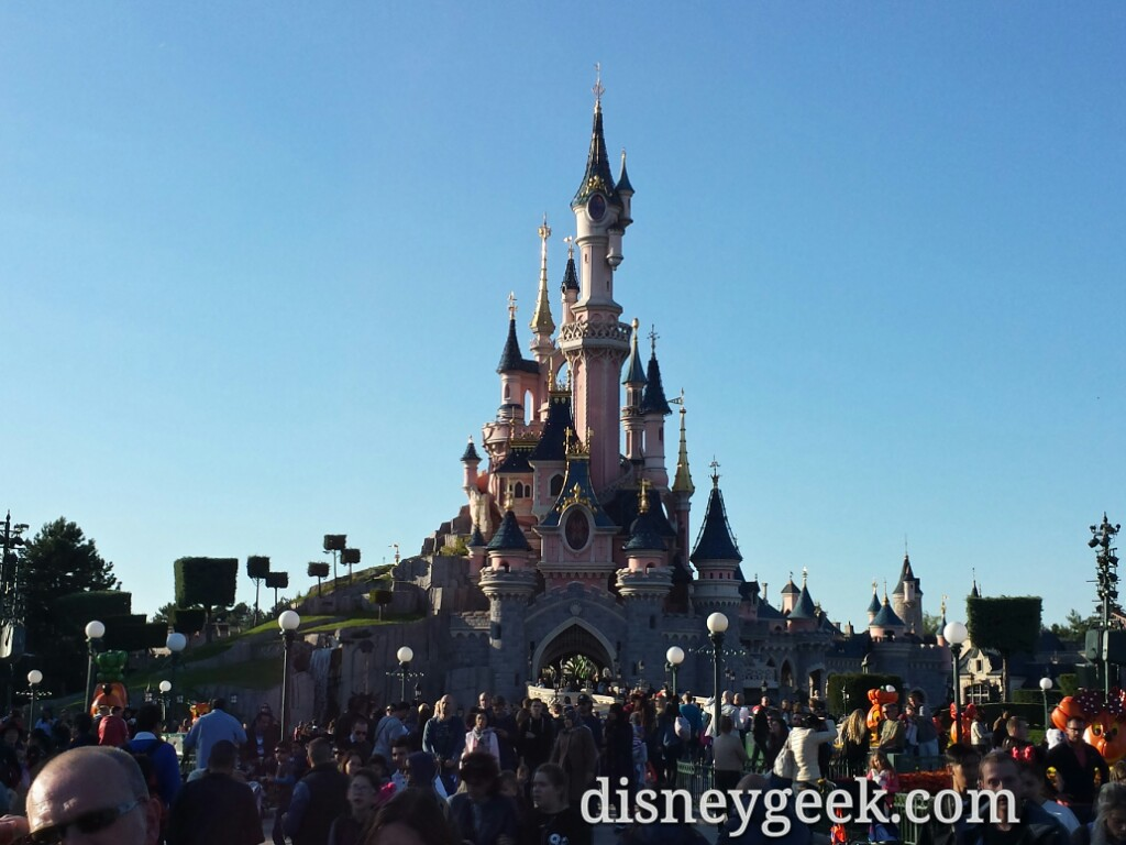 Paris Trip Log – Day 1 – Travel & Disneyland Paris