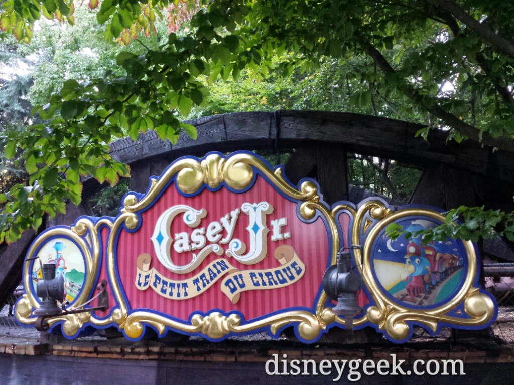 Next up Casey Jr #DisneylandParis