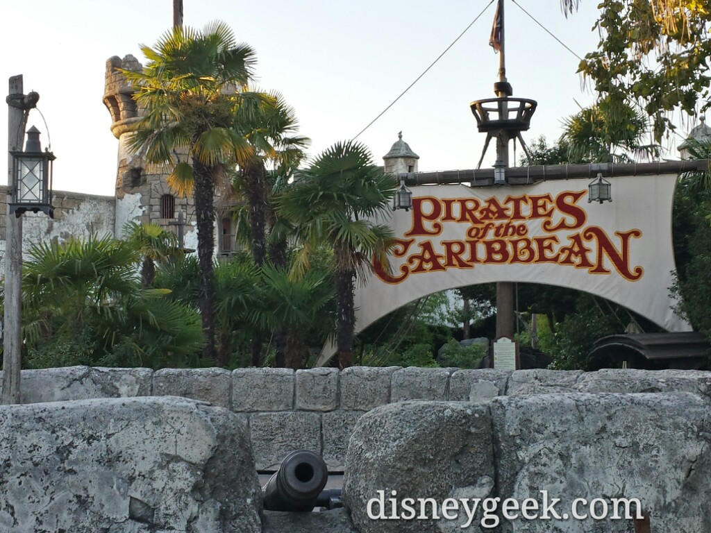 Pirates of the Caribbean exterior #DisneylandParis