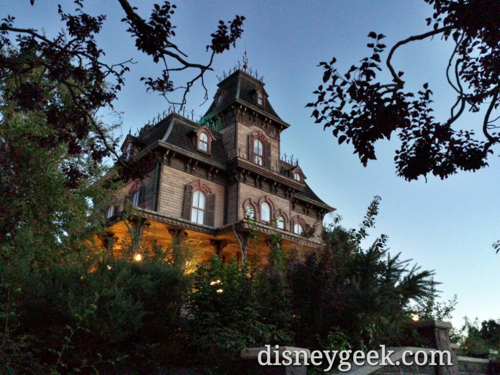 Phantom Manor #DisneylandParis