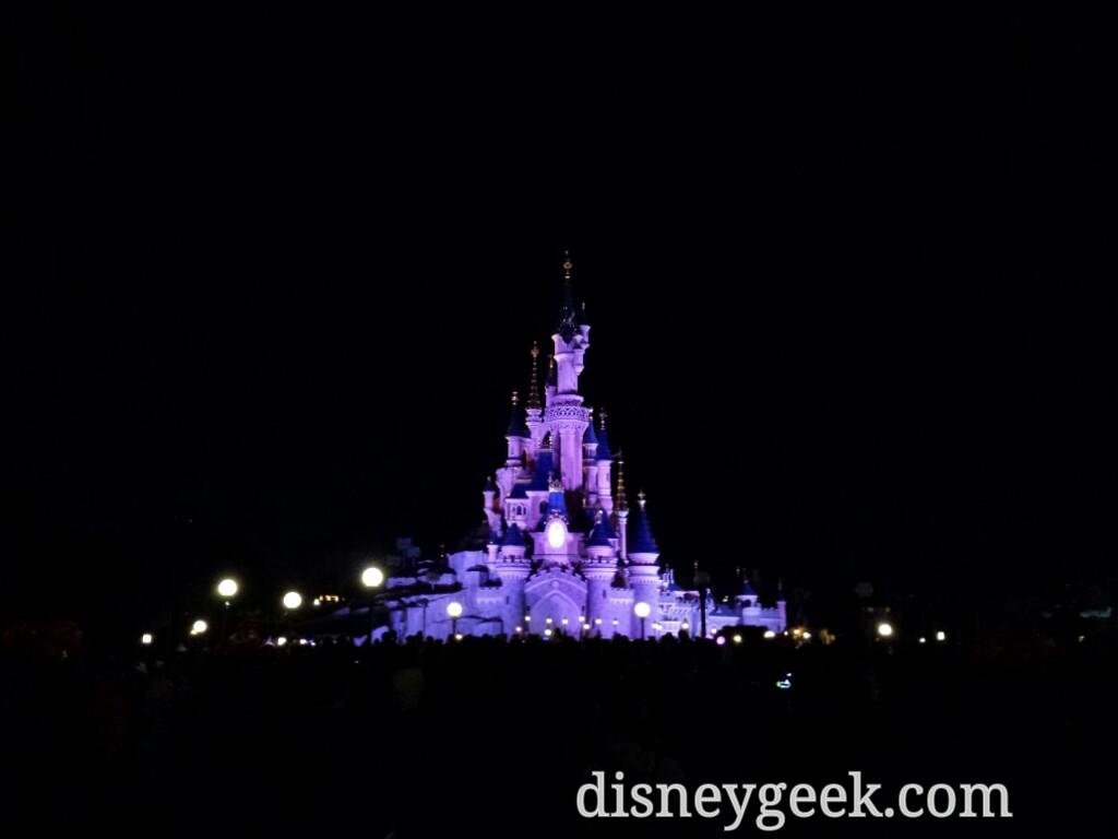 Sleeping Beauty Castle as I wait for #DisneyDreams #DisneylandParis