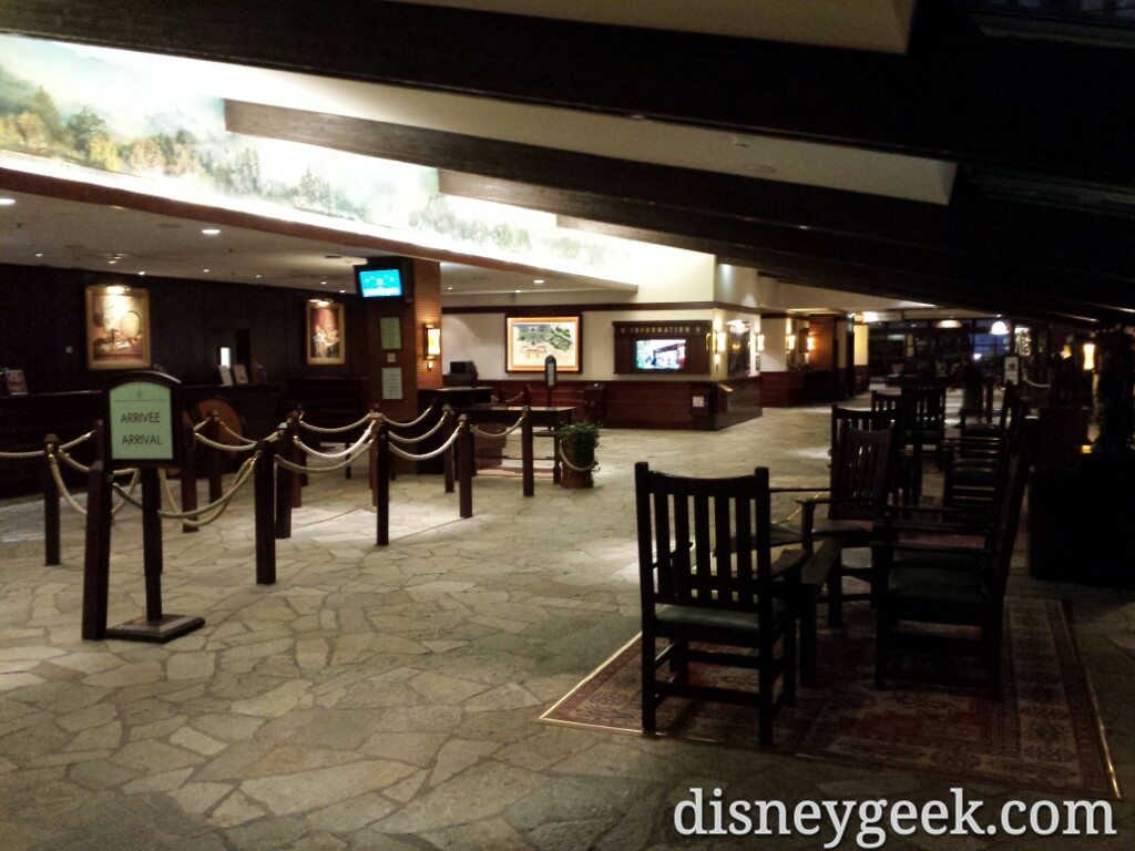 Disney's Sequoia Lodge lobby #DisneylandParis