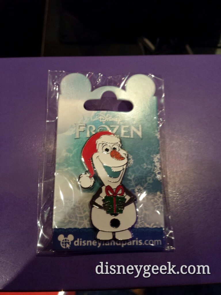 #Christmas merchandise is in several stores #DisneylandParis #Frozen