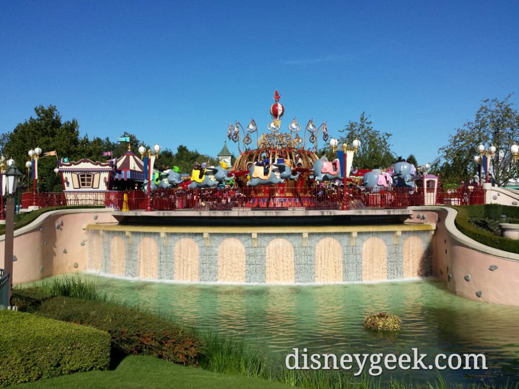 Dumbo #DisneylandParis