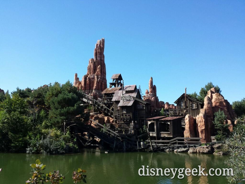 Big Thunder at #DisneylandParis