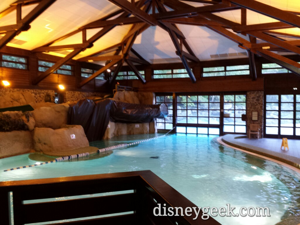 Quary Pool at Disney's Sequoia Lodge #DisneylandParis