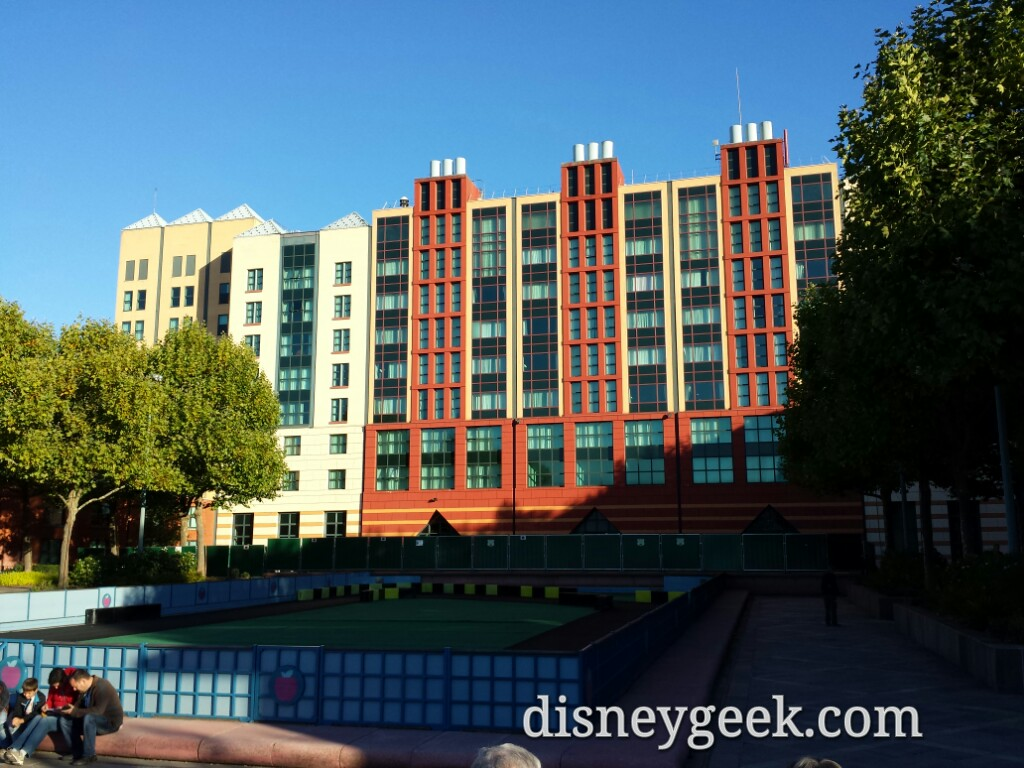Stopped by Disney's Hotel New York #DisneylandParis
