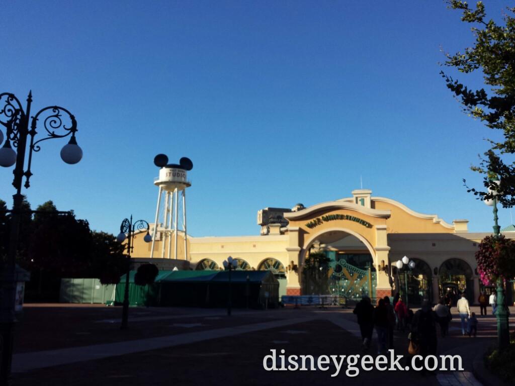 Today heading to Walt Disney Studios Park. My last Disney park to visit