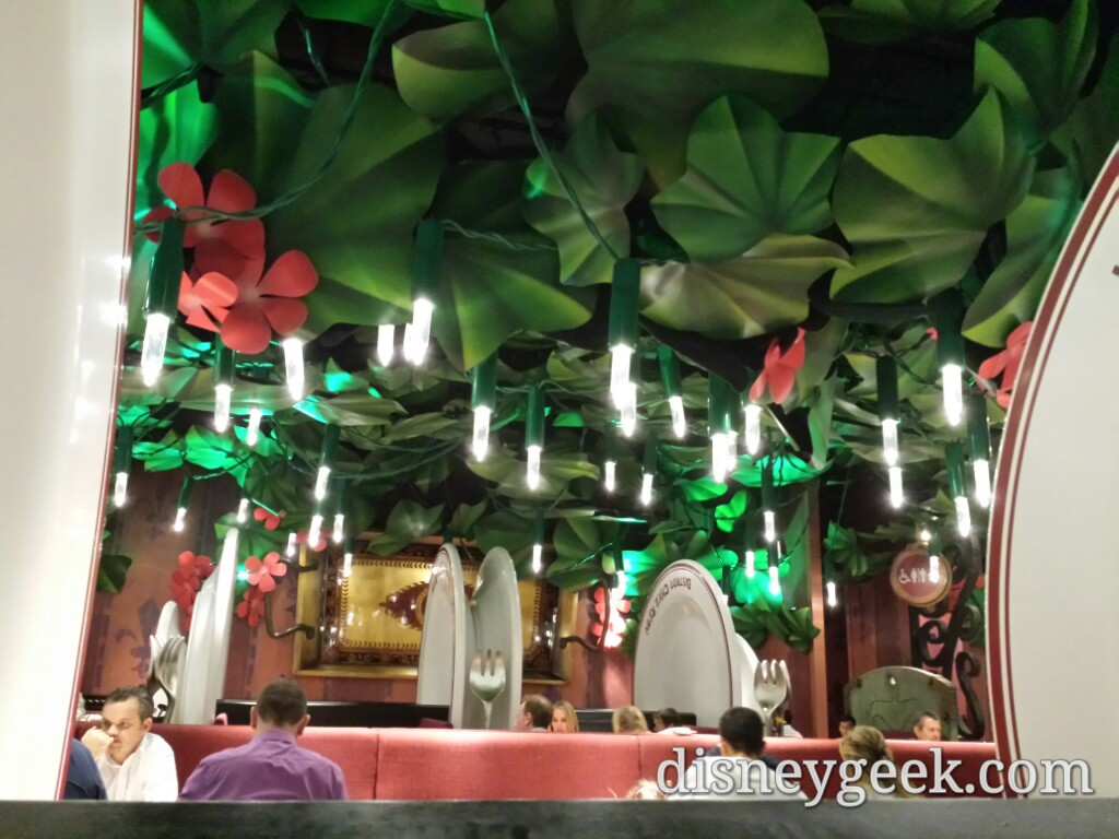 The view of Remy's from my table #DLP