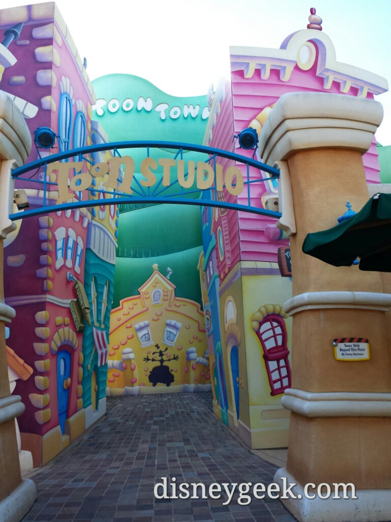 Toon Studio photo backdrop#DLP