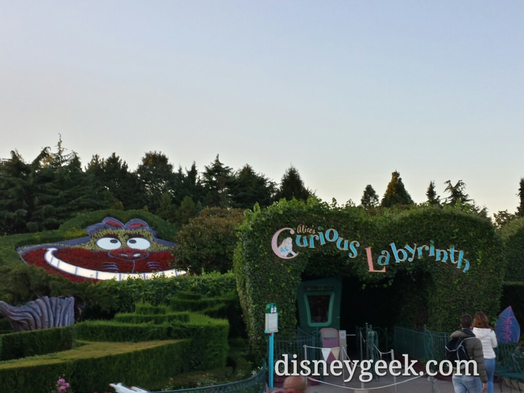 Alice's Curious Labyrinth #DisneylandParis