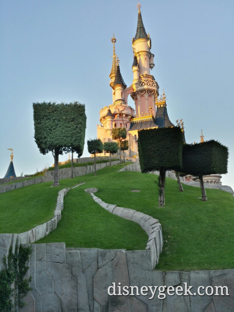 One more Sleeping Beauty Castle picture #DisneylandParis