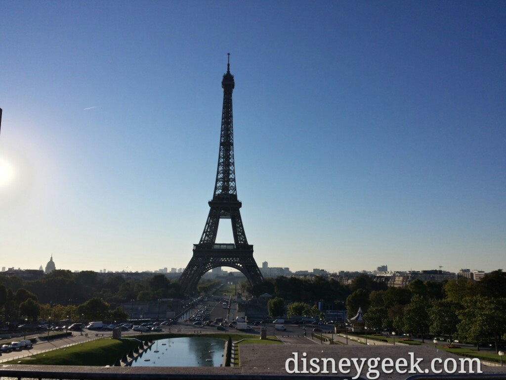 Today was a #Paris sightseeing day. 1st up #EiffelTower