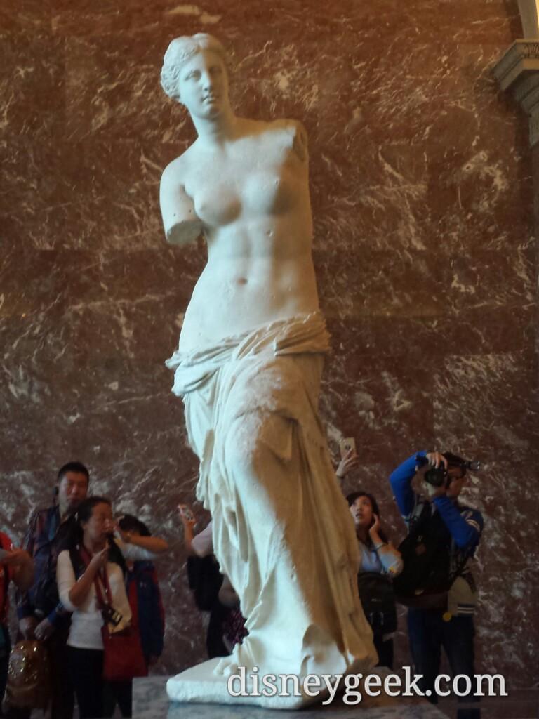 #Louvre – Venus de Milo #Paris