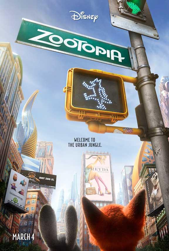 Disney Zootopia Teaser Poster