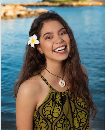 "Walt Disney Animation Studios' ""Moana"" Finds Her Voice (Disney News Release)"