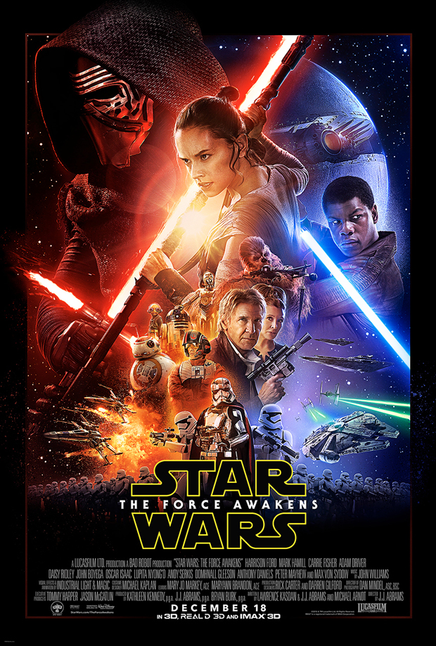 Star Wars: The Force Awakens – New Trailer during Monday Night Football (Disney News Release)