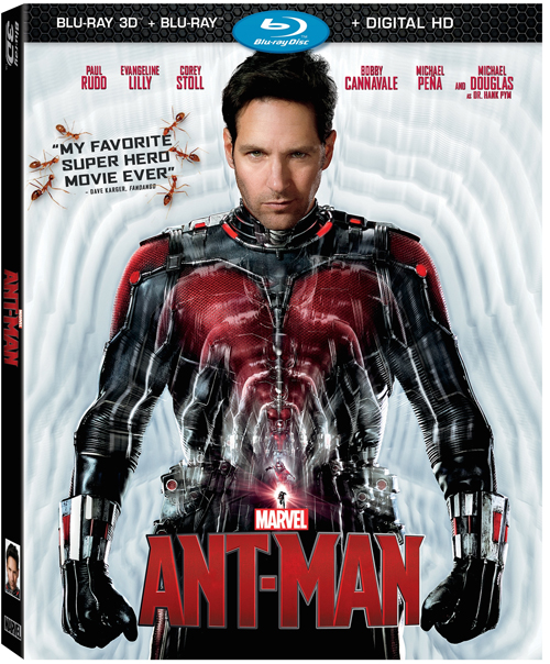 Ant-Man now on DisneyMoviesAnywhere (My 1st Impressions) & Coming to Blu-ray 12/8